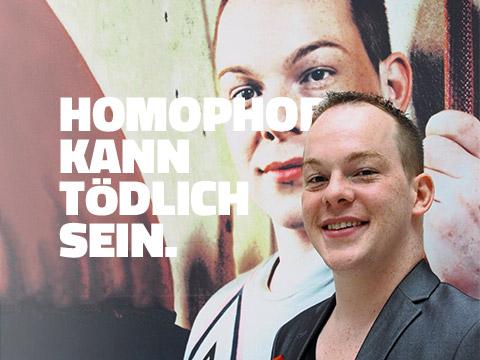 Homophobie kann tödlich sein.